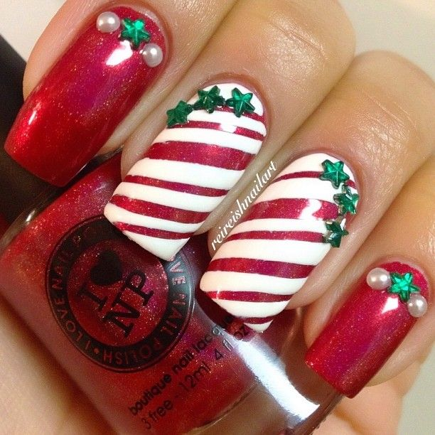 Christmas by reireishnailart #nail #nails #nailart