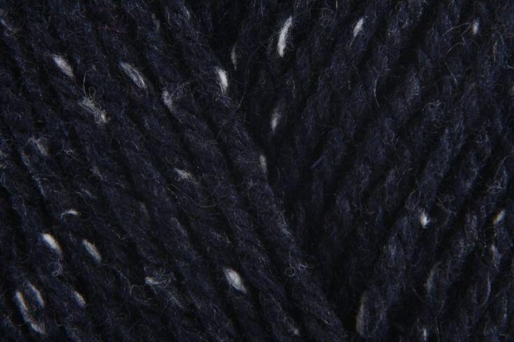 Patons Wool Blend Aran - Navy Tweed (00052) - 100g Edie