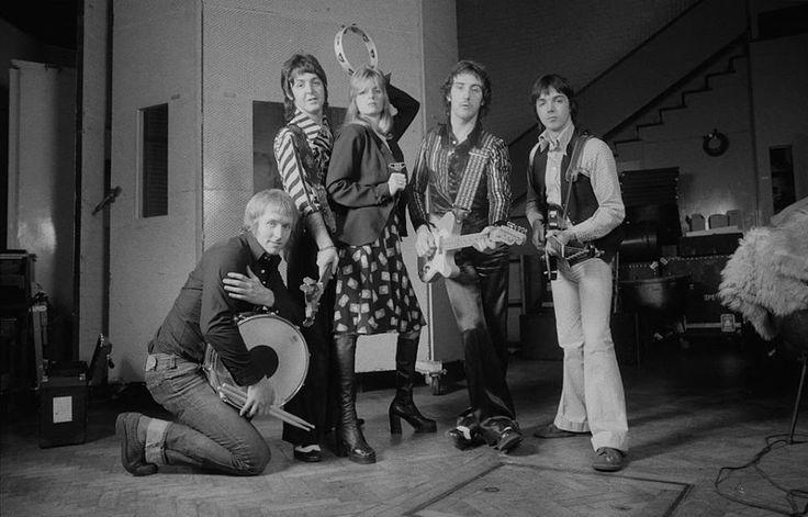 Paul McCartney and Wings circa 1970's
