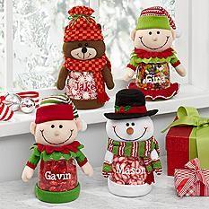 Festive Friend Plush Treat Jar