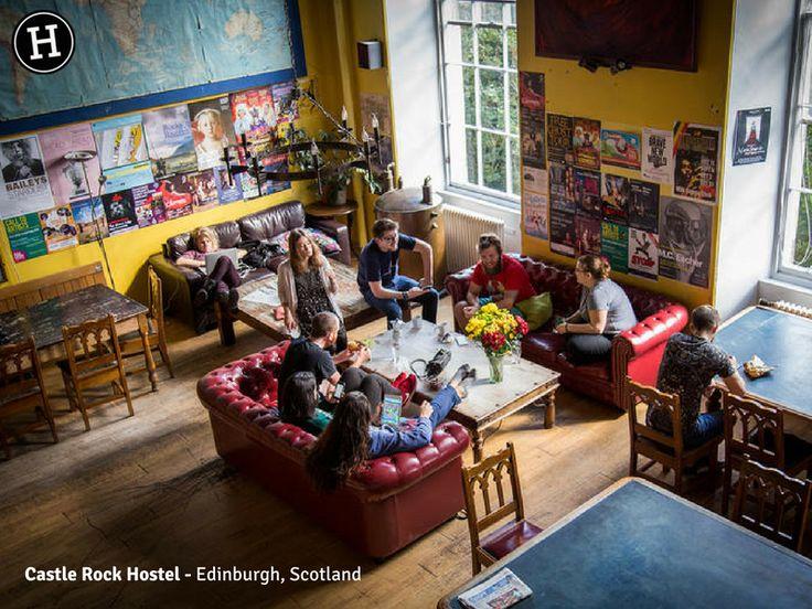 Castle Rock Hostel - Edinburgh, Scotland