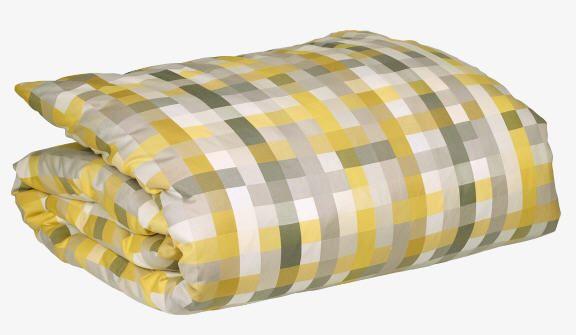 Housse de Couette Habitat, achat Pixel Housse de couette 260 x 240 cm jaune prix promo Habitat 150.00 € TTC