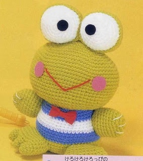FREE Amigurumi Frog Crochet Pattern and Tutorial