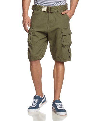 Surplus – Short Homme: Produktbeschreibung von Martz-Mailorder: Modische 3/4-Shorts im Military-Look. Mit dieser Hose liegen Sie voll im…