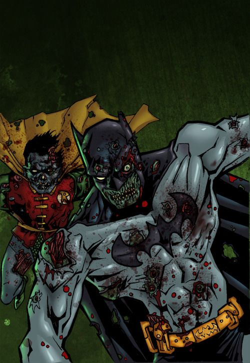 Zombie Batman Comic 8 best zombie batman i...