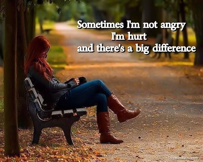 Im hurt quotes depressive quote trees sad autumn lovequotes brokenhearted path