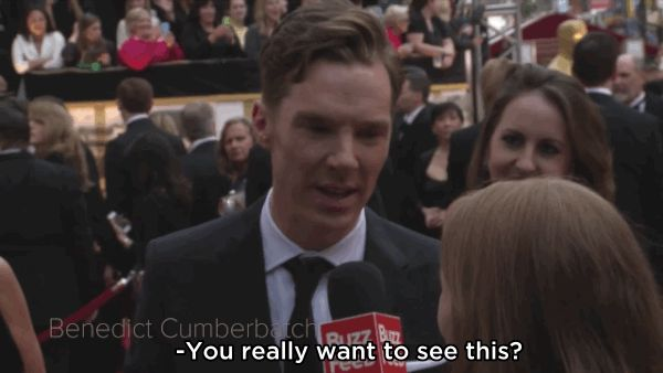 Yes i want to see And we asked him to show off his hidden talent. | Benedict Cumberbatch Might Have The Weirdest Hidden Talent Ever