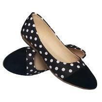 Calçado revenda moda feminina dos anos 60 umas das épocas favoritas porque eu adoro bolinhas :)