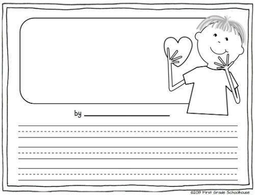 valentines day writing open ended printables by first grade schoolhouse free download - Toy Story Activity Center Download