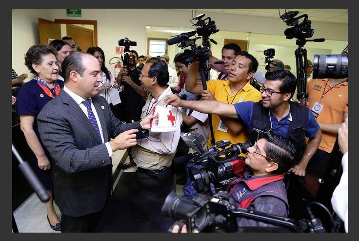 Se suma Congreso del Estado a la Colecta Anual de la Cruz Roja Mexicana
