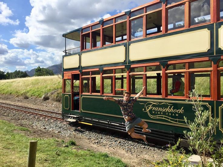 The Franschhoek Wine Tram is a great way to explore some of the fantastic wine farms in the region. Highly recommended!