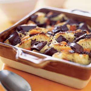 Chocolate-Apricot Bread Pudding   MyRecipes.com