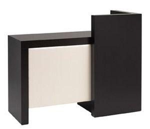 quadra salon reception desk made in huge choice of finishes - Salon Reception Desk