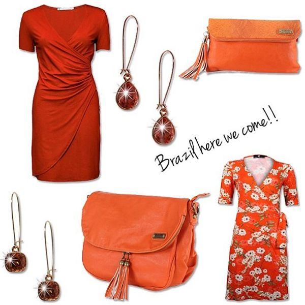 Ook wij gaan het Nederlands elftal aanmoedigen in onze oranje styletip!