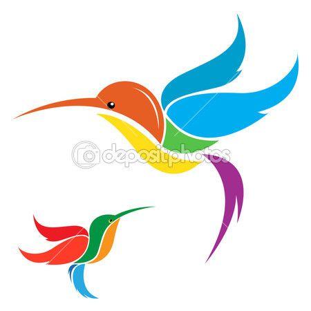 Векторное изображение колибри — стоковая иллюстрация #30177151