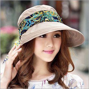 e90c47af1ae 2016 Summer Style Women Foldable Wide Large Brim Floppy Beach Gorro Hats  Chapeu Outdoors Visors Cap