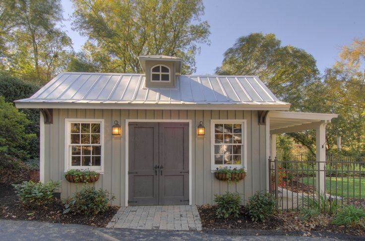 17 best ideas about prefab sheds on pinterest midcentury for Craftsman style storage sheds