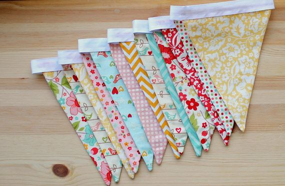 NEW  The Sweetest Thing  Pennant or Scalloped by FaSewLaStitches, $28.00