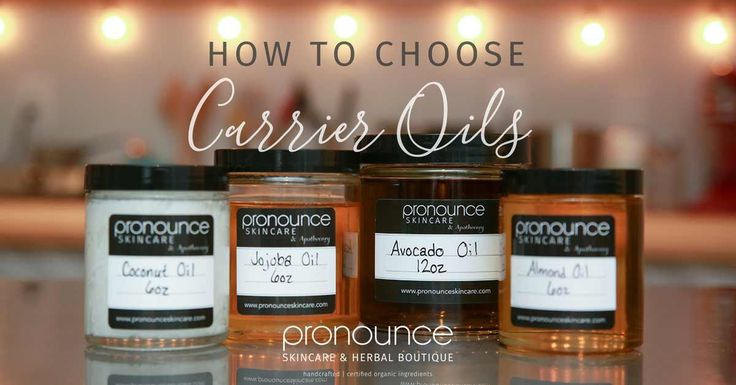 Carrier oils are necessary for making natural skincare products, but do you know how to use them? Check out this in-depth post on how to choose carrier oils