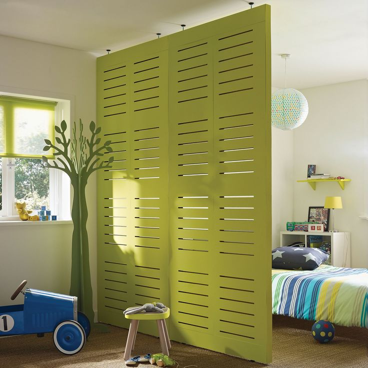 I wonder if something like this could work as sliding shutters in front of the patio doors.....