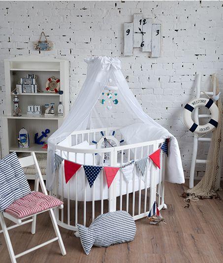 Kinderbetten ComfortBaby SmartGrow 7 in 1 ovales Babybett / ...