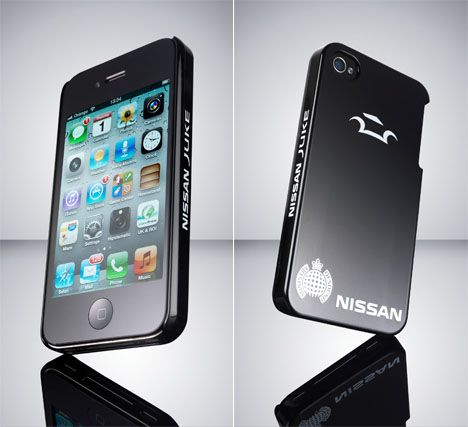 Nissan self-healing iPhone case. Special polymers allow ...