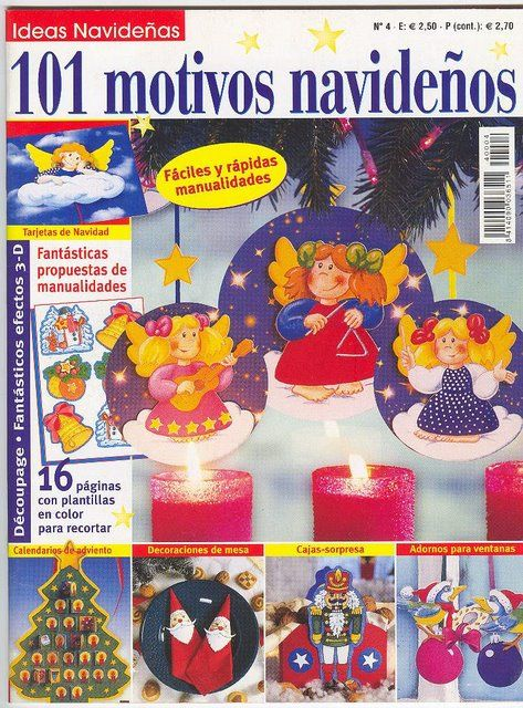 Revistas de Manualidades Para Descargar: 101 Motivos Navideños