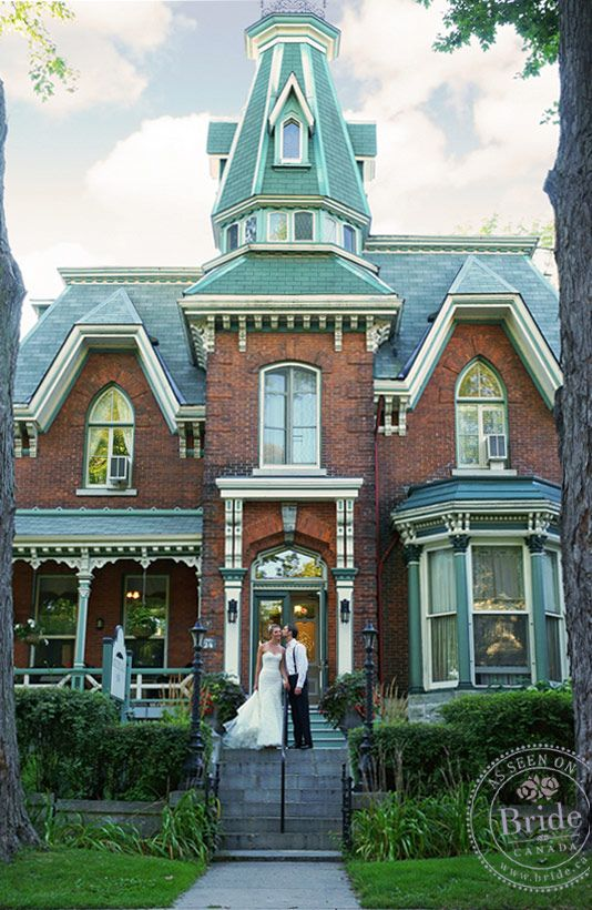 A lovely, intimate place to spend your wedding night! The historic Hochelaga Inn as seen on BRIDE.Canada