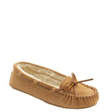 My ALL-TIME-FAVORITE slippers!!! Minnetonka 'Cally' Slipper available at Nordstrom