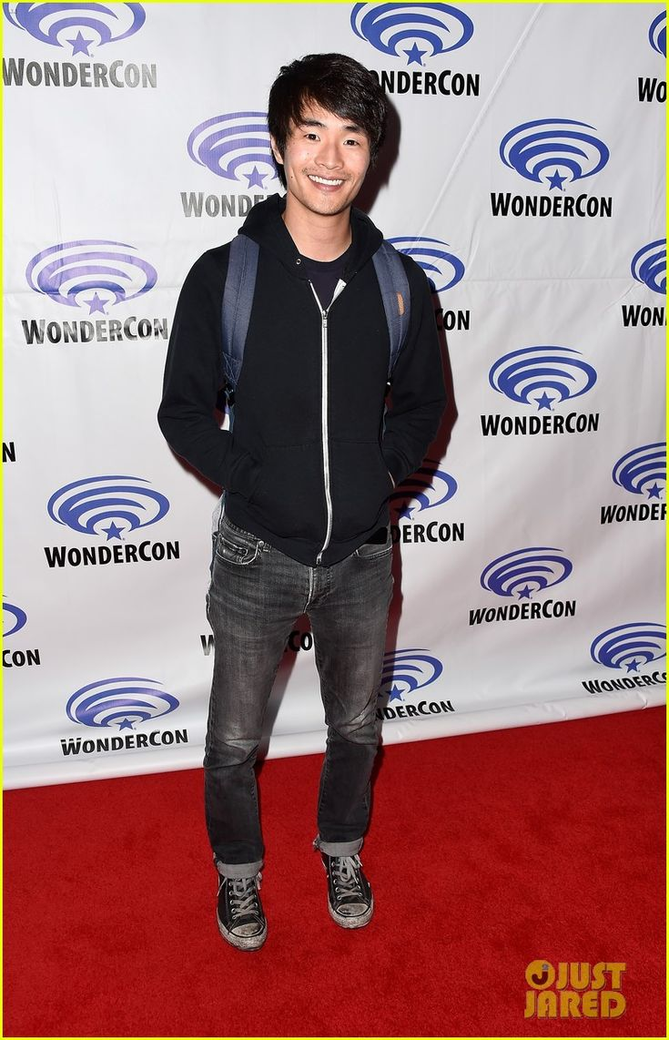Christopher Larkin at #The100 panel during the WonderCon 2016