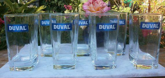 French Vintage Bistrot Provence 7 Glasses par FrenchVintageByManue