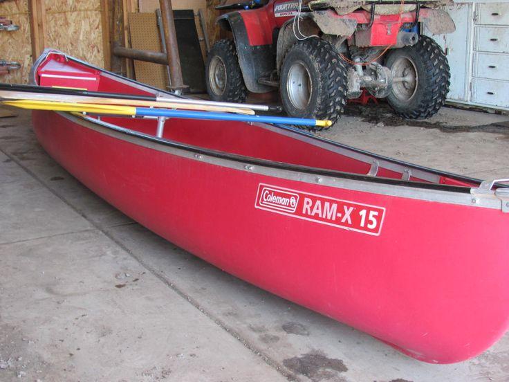 Lot #C-180 ~ Coleman Canoe ~ Hammer Price $245