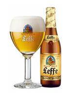 Het abdijbier Leffe blond is een degustatiebier van hoge gisting.  Het alcoholgehalte bedraagt 6.6%, de ideale schenktemperatuur 5 tot 6°C en het schenkritueel is dit van degustatiebieren uit de fles of - indien van het vat - van dorstlessende bieren. De smaak is zacht, vol en fruitig (met een zweem van bittere sinaasappel) met een krachtige afdronk en een pittige ondertoon. Brouwerij Anheuser-Busch InBev