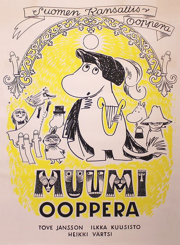 Moomins at the theatre: Finnish National Opera 1974 - Moomin opera