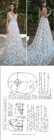Простая выкройка свадебного платья / Свадебные платья и идеи для свадьбы / ВТОРАЯ УЛИЦА
