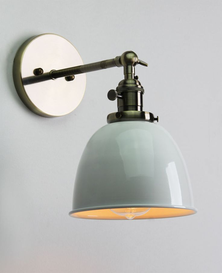 17 Best images about Sconce Lamps on Pinterest Industrial, Brass wall lights and Shades