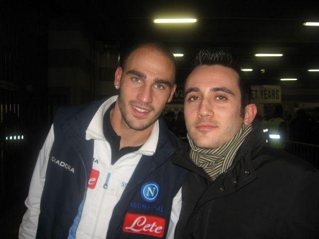 Io e il nostro excapitano Paolo Cannavaro