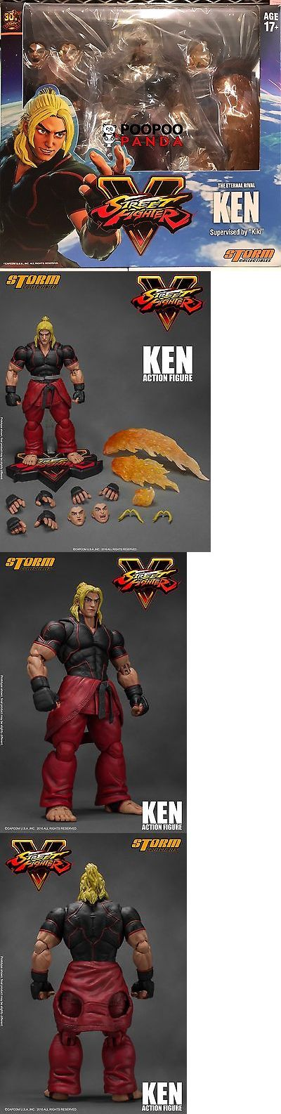 Anime and Manga 158666: Storm Collectibles Ken Street Fighter V 1 12 Action Figure In Stock Usa -> BUY IT NOW ONLY: $69.99 on eBay!