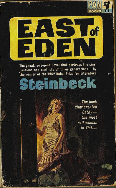 an analysis of good and evil in the novel east of eden by john steinbeck East of eden (novel) east of eden is a novel by nobel prize winner john steinbeck,  steinbeck's portrayal of good and evil was both hyperbolic and oversimplified,.