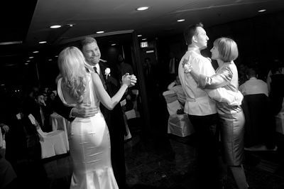 A joint father daughter, mother son dance song may be a good choice for your wedding.