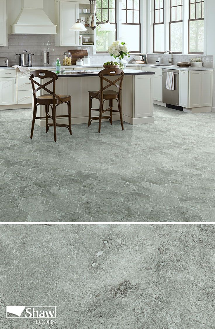 Shaw Floors Resilient, luxury vinyl tile called Escape in