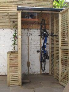 Telhado para bicicletas