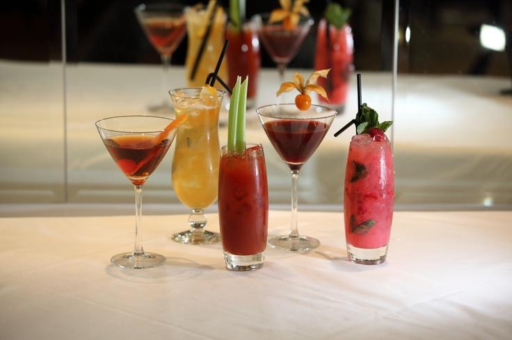 The top five contemporary, classic and unique cocktail creations at North Bridge Brasserie in Edinburgh.