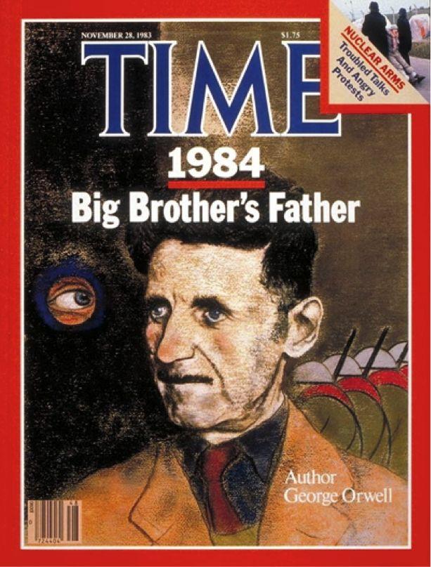 Novelist George Orwell
