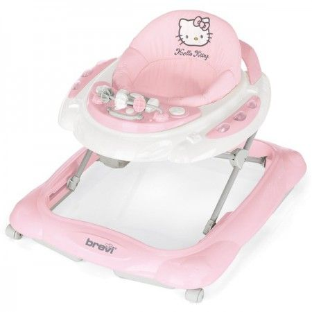 Trotteur Hello Kitty Skylab pink