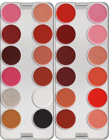 Lip Rouge Palette 24 Colors   Kryolan - Professional Make-up