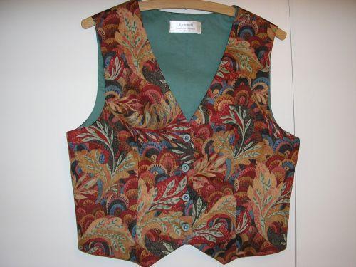 Red Moghul Ladies Waistcoat 10-12