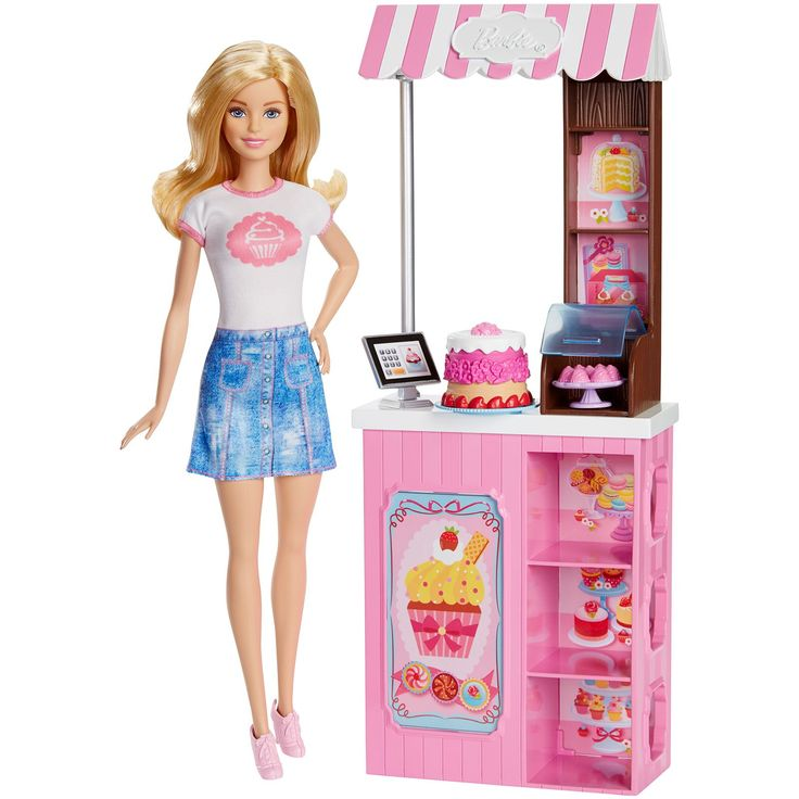 Barbie Bakery Owner Doll & Playset with Blonde Doll by Mattel