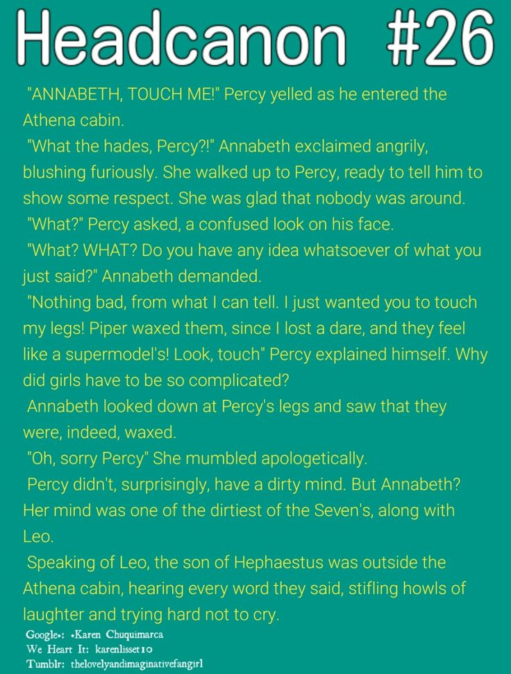 Image result for percy jackson headcanons