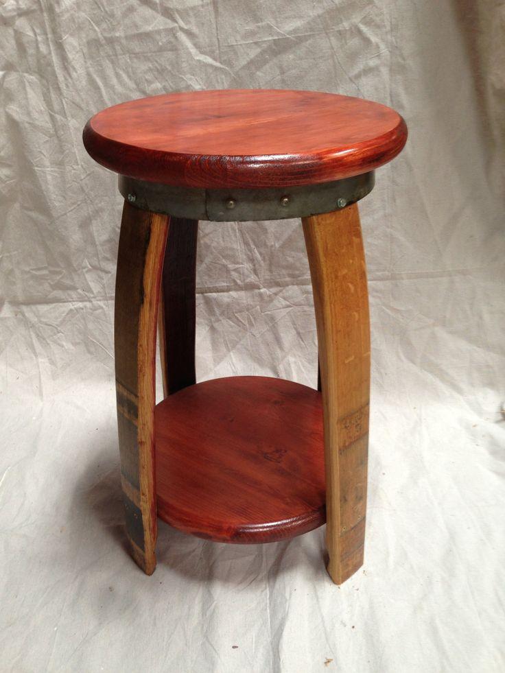 Wine Barrel Bar Stool & Best 25+ Wine barrel bar stools ideas on Pinterest | Barrel ... islam-shia.org